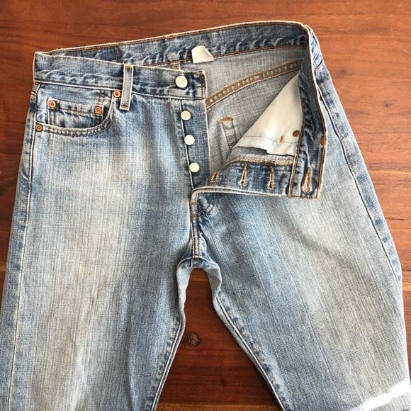 07c88024373 Levi s Denim - Levi s button fly 501xx Jeans